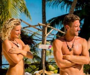 Janni und Peer als Paar im Finale Adam sucht Eva 7.10.2016