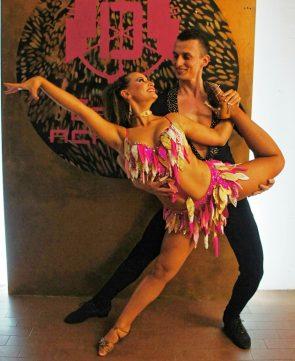 Mario Olivari - 'Pina' Giuseppina Del Gavio - Tanzpaar Deutche Salsa Meisterschaft 2016