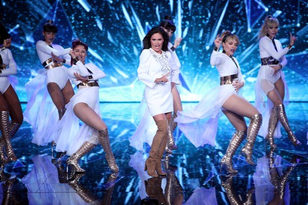 Nazan Eckes im Finale Dance Dance Dance 7.10.2016