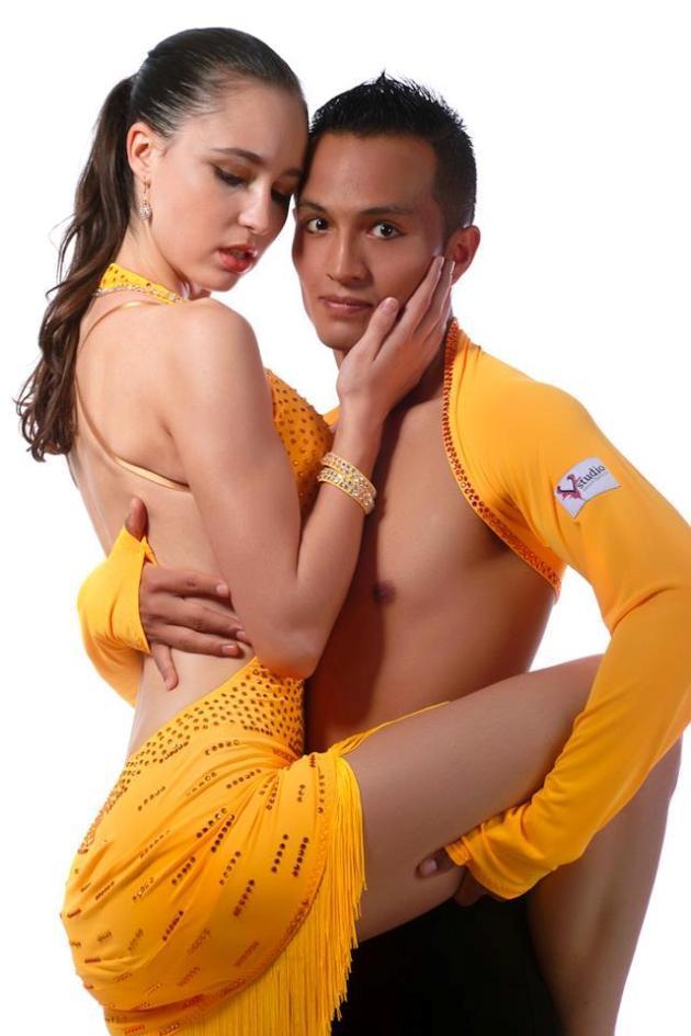 Oliver und Julia - Salsa-Tanzpaar aus Karlsruhe