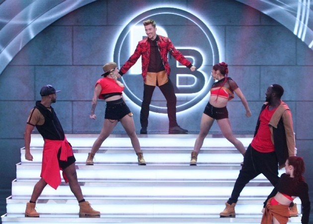 Philipp Boy im Dance Dance Dance Finale 7.10.2016