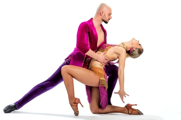Salsa-Tanzpaar Kamil und Natalie 2016