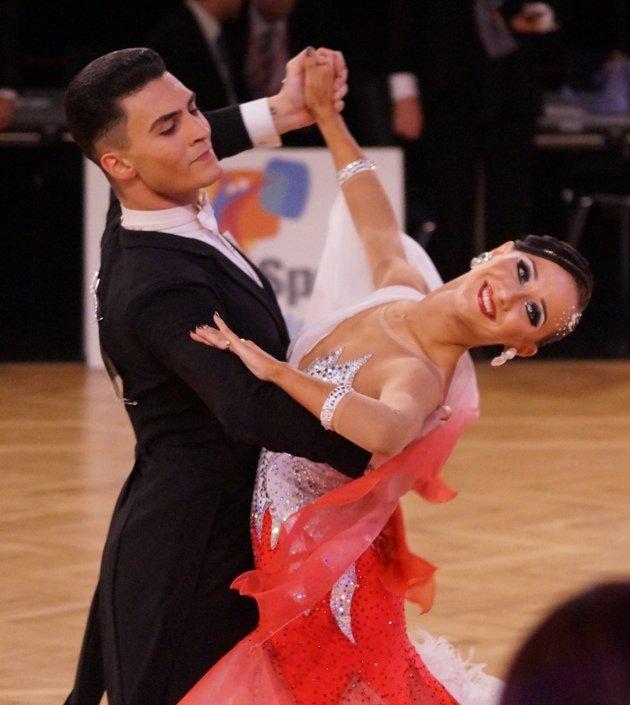 Alessandro Couco - Olga Kosareva aus der Schweiz WM 10 Tänze 2016 AOC