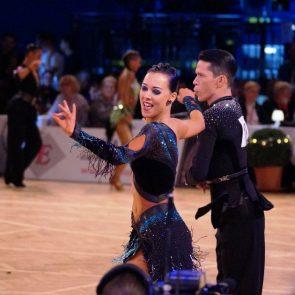 Tanzsport Höhepunkte 2016-11 - hier Dumitru Doga - Sarah Ertmer aus Deutschland