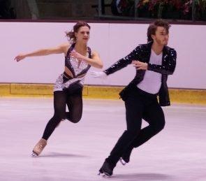 Kavita Lorenz - Joti Polizoakis zur Deutschen Meisterchaft Eiskunstlauf 2017