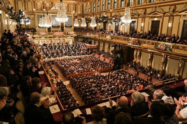 Neujahrskonzert 2017 Wiener Philharmoniker im Wiener Musikverein