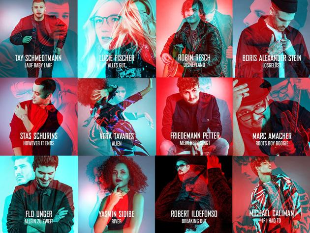 The Voice of Germany 2016 Singles und Videos der Talente