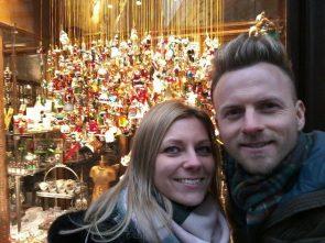 Willi Gabalier und seine Frau Christiana