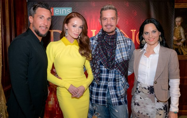 Dancing Stars 2017 Jury - Balacz Ekker, Karina Sarkissova, Dirk Heidemann, Nicole Hansen