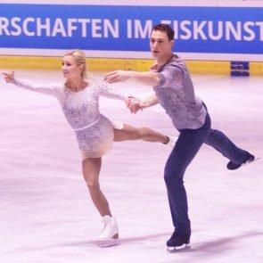 Eiskunstlauf EM 2017 Ostrava, Zeitplan, TV-Zeiten, hier Aljona Savchenko - Bruno Massot