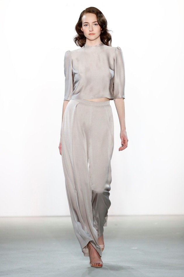 Hosen bei Ewa Herzog Mode Herbst 2017 - Winter 2018 - Fashion week Berlin 1-2017 -3