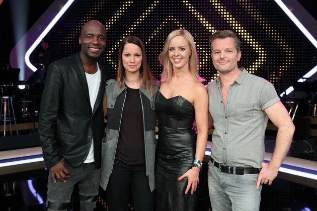 It takes 2 am 22.1.2017 - Team Christina Stürmer mit Dave Davis, Isabel Edvardsson, André Dietz