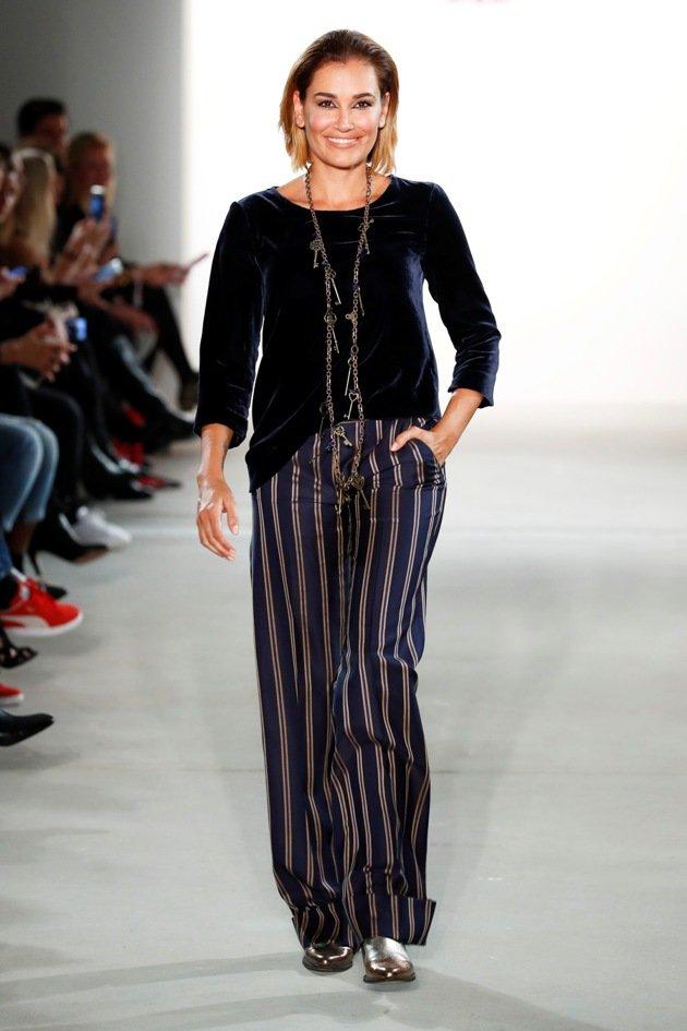 Jana Ina Zarrella bei Riani zur Fashion Week Berlin Januar 2017