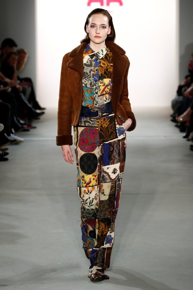 Kunstpelz von Riani Mode Herbst 2017 Winter 2018 zur Fashion Week Berlin Januar 2017 - 3