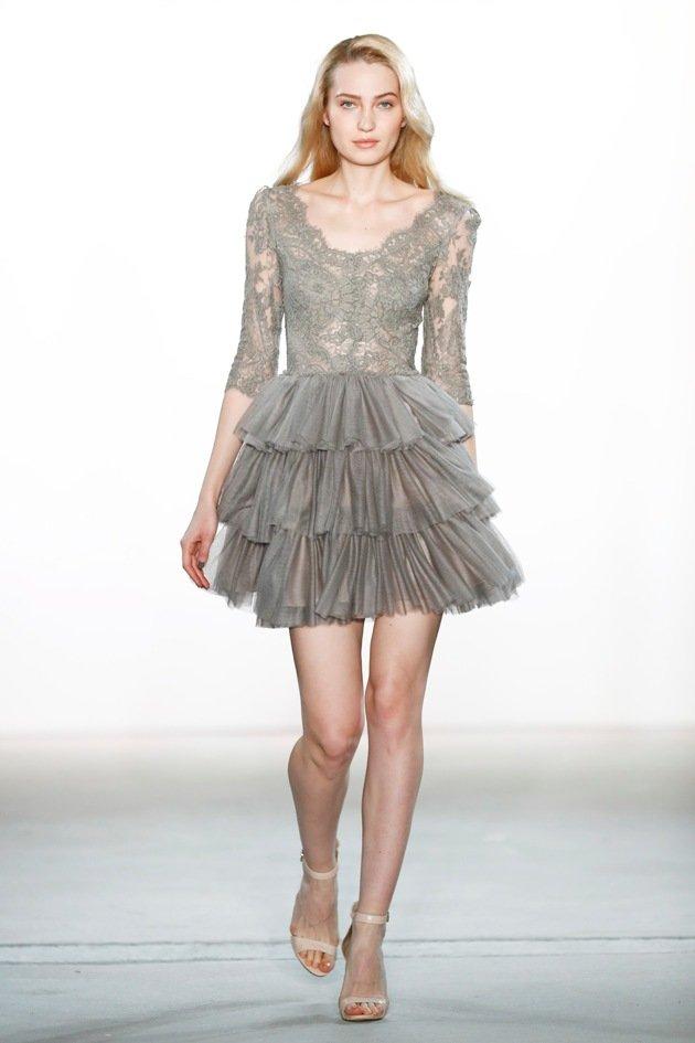 Kurze Röcke bei Ewa Herzog Mode Herbst 2017 - Winter 2018 - Fashion week Berlin 1-2017 -6