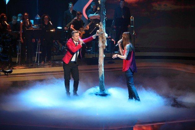 André Dietz und Christina Stürmer im Finale It takes 2 am 12.2.2017