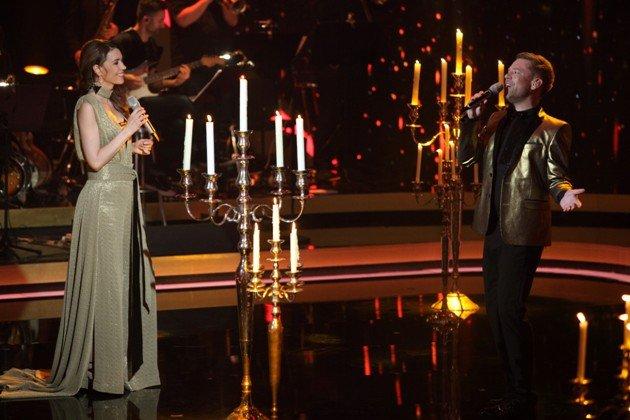 Annett Möller und Tom Gaebel im Finale It takes 2 am 12.2.2017