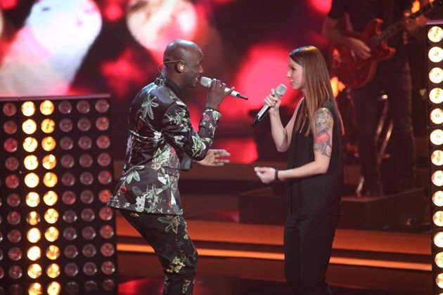 Christina Stürmer und Dave Davis im Finale It takes 2 am 12.2.2017