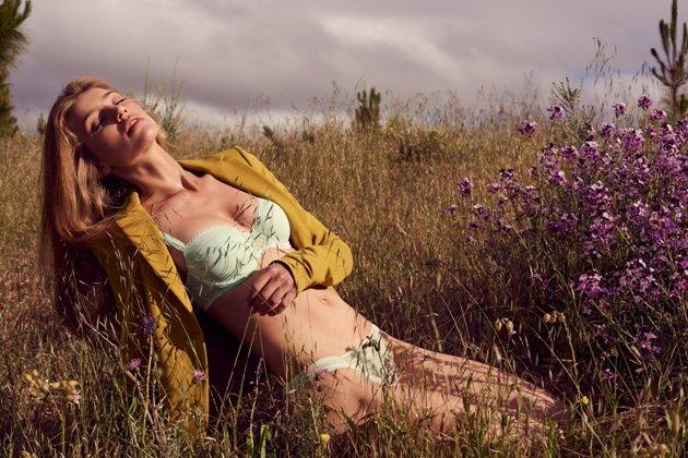 Dessous Sommer 2017 Marie Jo, Modell Naomi, Farbe Grün