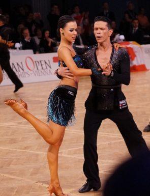 Dumitru Doga - Sarah Ertmer aus Deutschland Europameister 2017 10 Tänze