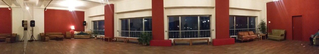 Kurs-Raum in der Tanzschule Baileo