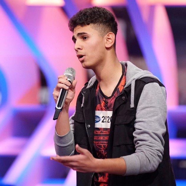 Mohamed Salem bei DSDS am 11.2.2017