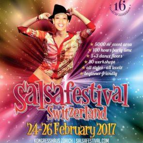 Salsa-Festival Zürich vom 24.-26. Februar 2017