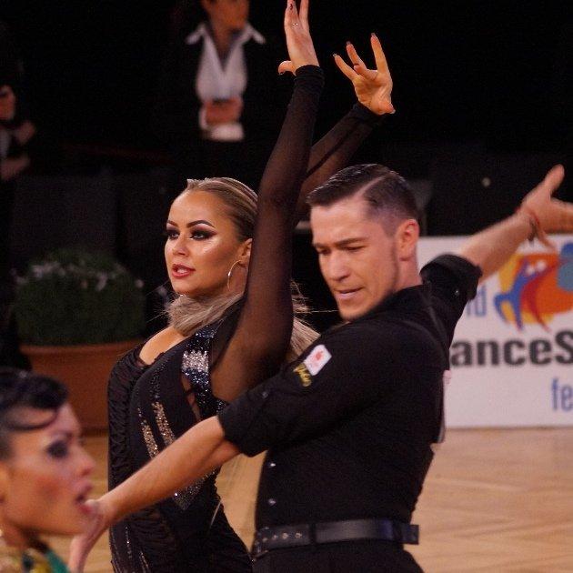 Timur Imametdinov - Nina Bezzubova - erfolgreiches Latein-Tanzpaar aus Deutschland