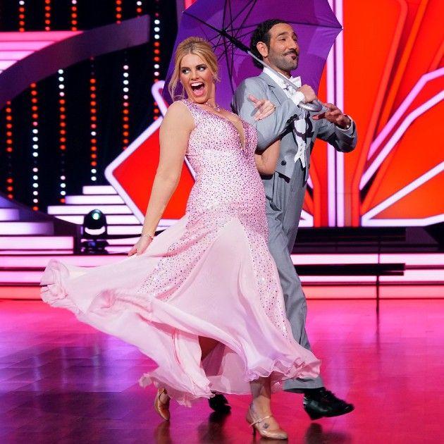 Angelina Kirsch - Massimo Sinato bei Let's dance am 24.3.2017
