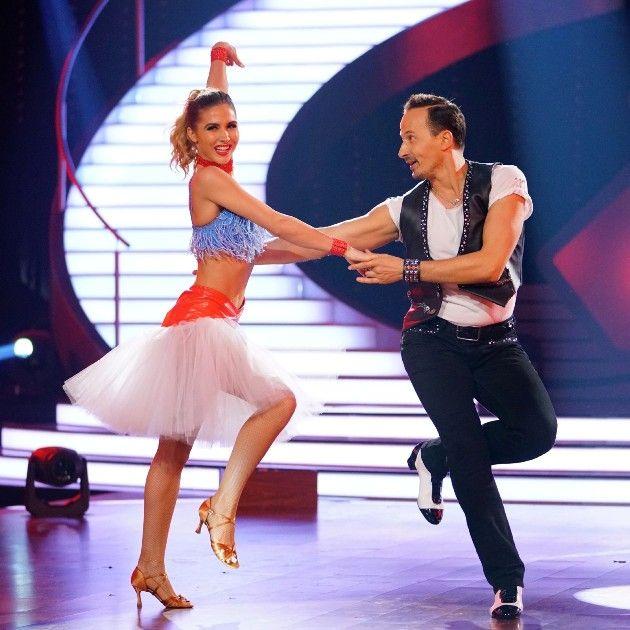 Ann-Kathrin Brömmel - Sergiu Luca bei Let's dance am 24.3.2017