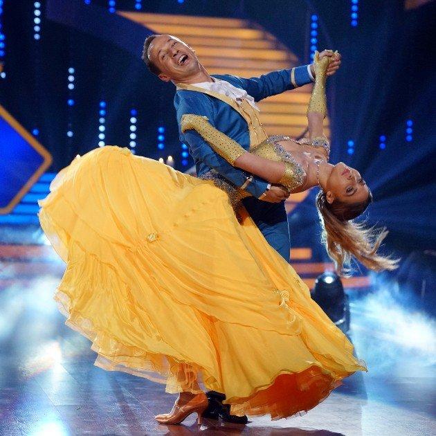 Ann-Kathrin Brömmel und Sergiu Luca bei Let's dance am 17.3.2017