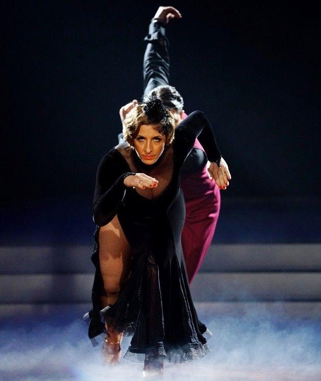 Anni-Friesinger-Postma - Erich Klann bei Let's dance am 24.3.2017