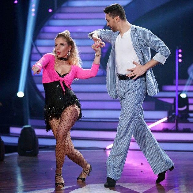 Cheyenne Pahde und Andrzej Cibis bei Let's dance am 24.3.2017