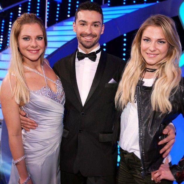 Cheyenne und Valentina Pahde bei Let's dance 2017 mit Andrzej Cibis