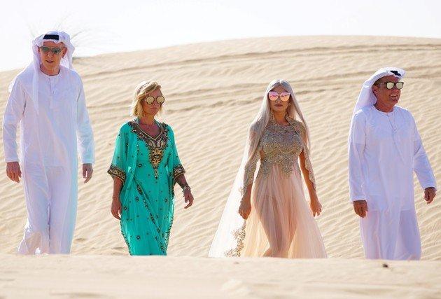 DSDS-Jury am 18.3.2017 in der Wüste keine Fata Morgana
