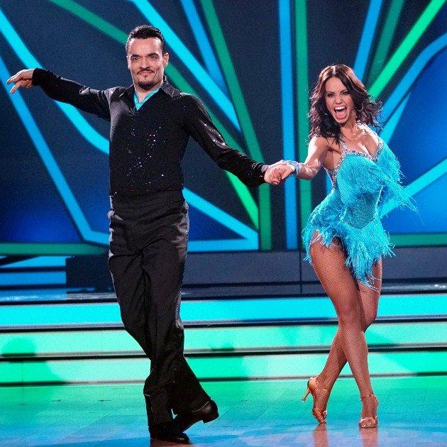 Giovanni Zarrella und Christina Luft bei Let's dance 17.3.2017