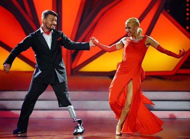 Heinrich Popow - Kathrin Menzinger bei Let's dance am 24.3.2017