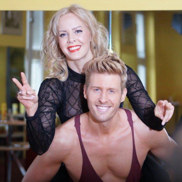 Isabel Edvardsson - Maxi Arland beim Training Let's dance 17.3.2017