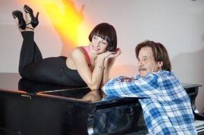 Marta Arndt - Jörg Draeger beim Training für Let's dance 2017