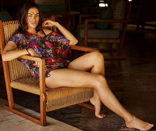 Strandkleid 2017 von PrimaDonna Swim - Model Bossa Nova, Farbe Vitamin