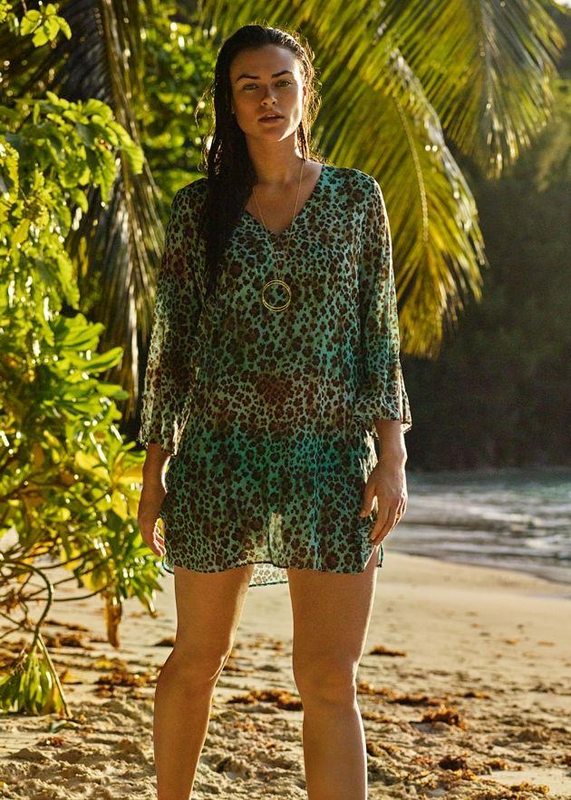Strandkleid 2017 von PrimaDonna Swim - Model Samba, Farbe Mineral
