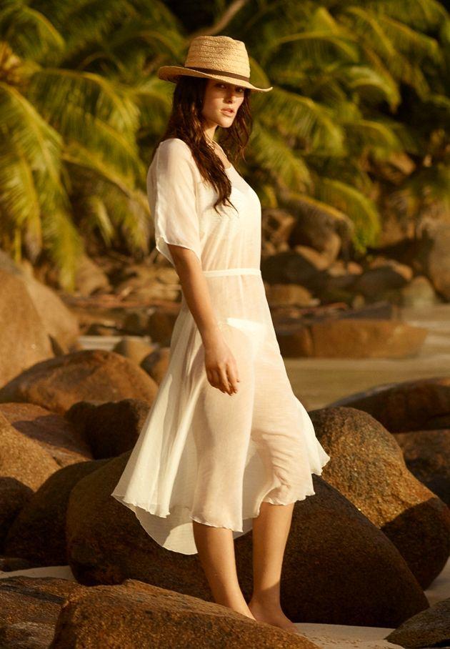 Strandkleid 2017 von PrimaDonna Swim - Model Sundance, Farbe White Sand