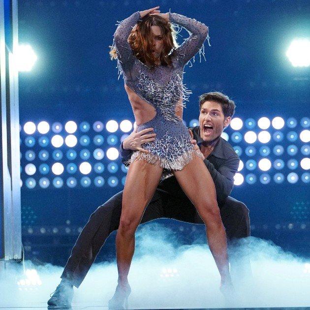Vanessa Mai und Christian Polanc bei Let's dance 17.3.2017