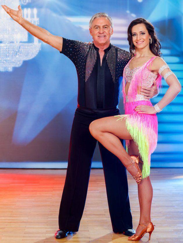 Walter Schachner - Lenka Pohoralek bei den Dancing Stars am 31.3.2017
