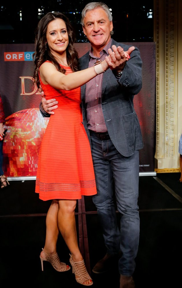 Walter Schachner und Lenka Pohoralek - Dancing Stars 2017