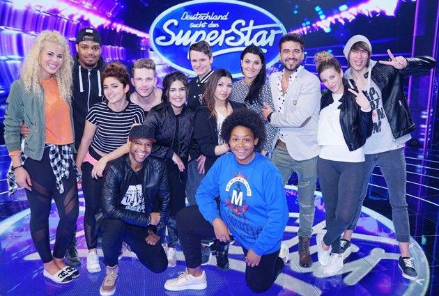 DSDS 2017 am 8.4.2017 1. Live-Show Kandidaten und Songs