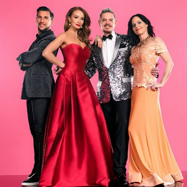 Dancing Stars 2017 am 21. April 2017 - hier die Jury