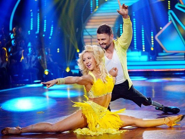 Heinrich Popow - Kathrin Menzinger bei Let's dance am 7.4.2017
