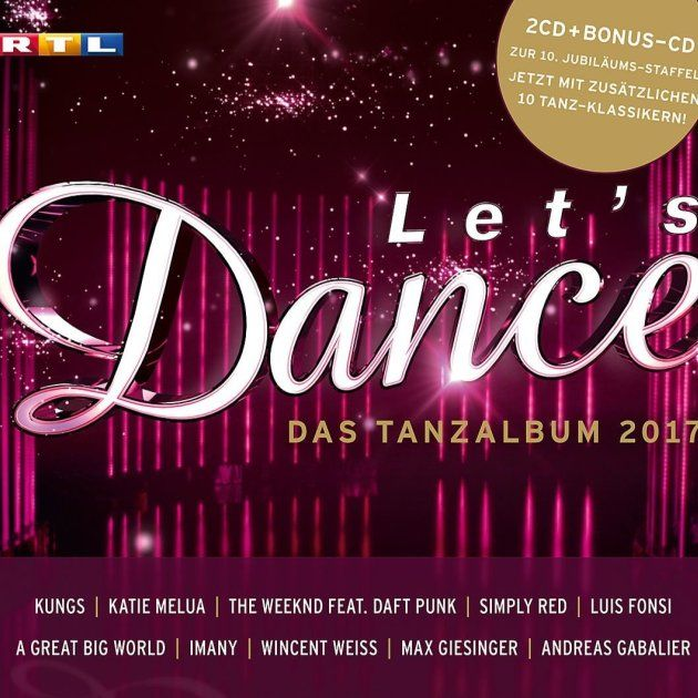 Let's dance CD 2017 - Das Tanz-Album