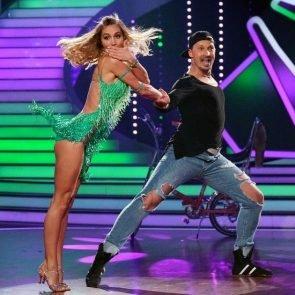 Let's dance am 21.4.2017 - ausgeschieden Ann-Kathrin Brömmel -Sergiu Luca
